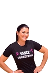 Dance Connection Ladies Sparkle T-Shirt